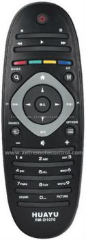 RM-D1070 PHILIPS BLU-RAY DVD REMOTE CONTROL