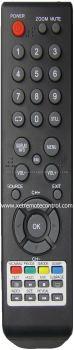 LED-22FHD MECK LED TV REMOTE CONTROL