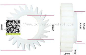 LG WASHING DOUBLE CLUTCH GEAR