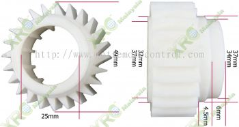 LG WASHING MACHINE SINGLE CLUTCH GEAR