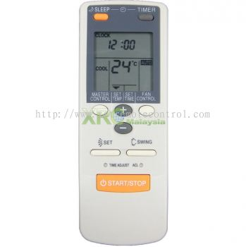 AR-JE27 FUJI ELECTRIC AIR CONDITIONING REMOTE CONTROL