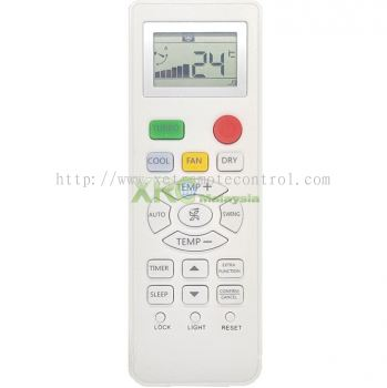 YL-HD01 HAIER AIR CONDITIONING REMOTE CONTROL