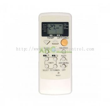 A75C2565 NATIONAL AIR CONDITIONING REMOTE CONTROL