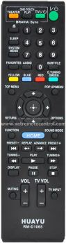 RM-D1065 SONY HOME THEATER REMOTE CONTROL