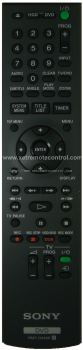 RMT-D249P SONY HDD DVD RECORDER REMOTE CONTROL