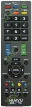 RM-L1238 SHARP LCD/LED TV REMOTE CONTROL