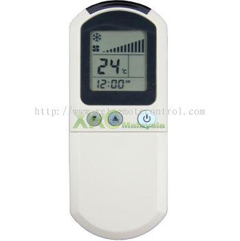 TAS02L TOPAIRE AIR CONDITIONING REMOTE CONTROL