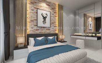 Bedroom 3D Design - Master Bedroom