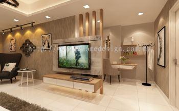 TV Console Design