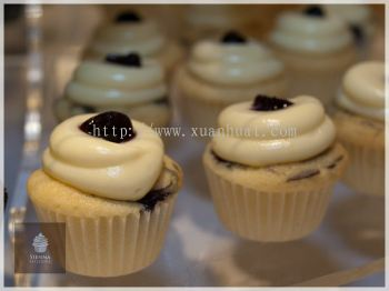 Blueberry cheesecake flavor cupcake