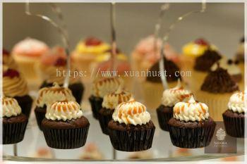 Salted Caramel Flavor Cupcake