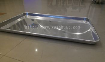 600mm x 400mm aluminium tray (AL-TR) / dulang pembKr aliminuim