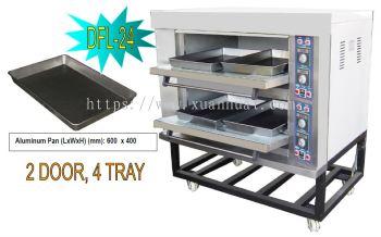 Orimas Electric Oven 2D4T/ orimas ketuhar 2 tingkat 4 loyang (E2D4T)