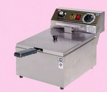 Electric Deep Fryer Single / Mesin Mengoreng Elektrik