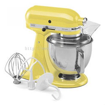 Kitchenaids Universal Flour Mixer KSM150 Artisan (Yellow)