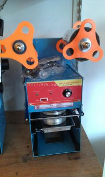 Semi Auto Cup Sealer Machine / Mesin Semi Auto Penutup Cawan