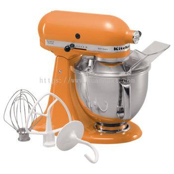 Kitchenaids Universal Mixer KSM150 Artisan (Tangerine)
