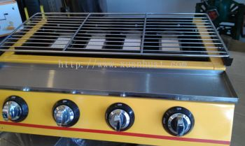Burger Bakar Equipment - Gas BBQ Set