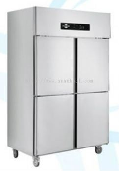 Stainless Steel 4 Door Upight Chiller or Freezer