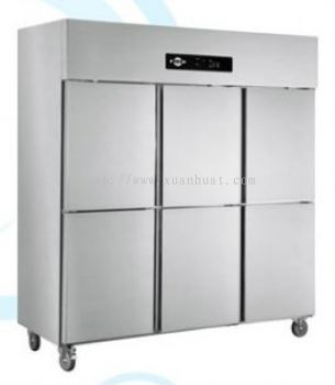 St. Steel 6 Door Upright Chiller or Freezer