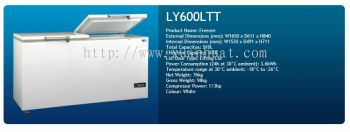 600L Chest Freezer With 2 Lifting Lid