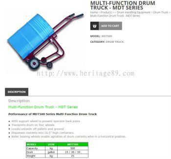 Multi-Function Drum Truck 500Kg