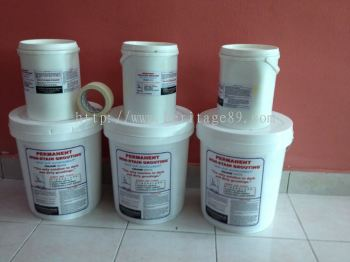 Permanent Non-Stain Grouting Materials™ - White Color - RM 149.00 x 40kgs