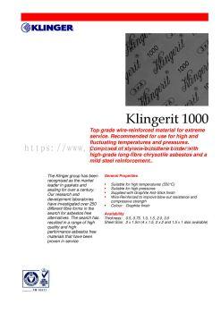 Klingerit 1000