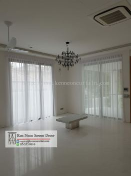 Lace Curtain Design and installation