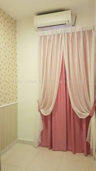 Sheer Effect Curtain Design and Installation