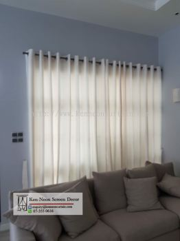 Transparent Curtain Design and Installation Service