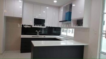 Kitchen Design - D'Carlton Apartment