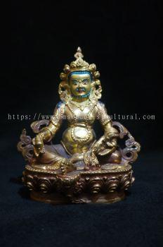 黄财神铜像