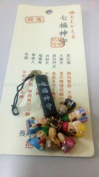 七福神手机吊饰