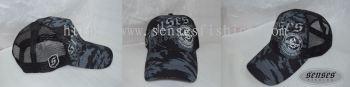 SENSES CAP CAMOU BLACK GREY