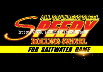 SPEEDY ROLLING SWIVEL TOOL - For Saltwater