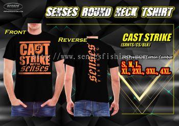 SENSES ROUND NECK TEE SHIRT-CAST STRIKE