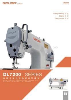 Siruba Hi Speed Direct Drive Motor Sewing Machine