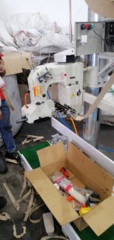 Industrial Stand Bag Closing Machine