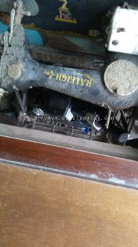 JOB REPAIR SEVIS FOR RALEIGH ANTIQUE SEWING MACHINE