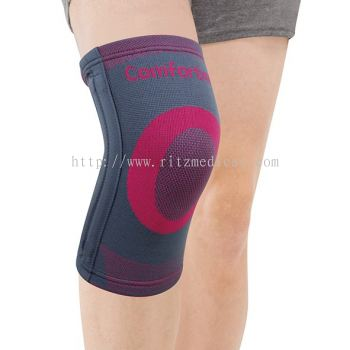 CO-7007 Pattern Knee Support with 4 spiral stays