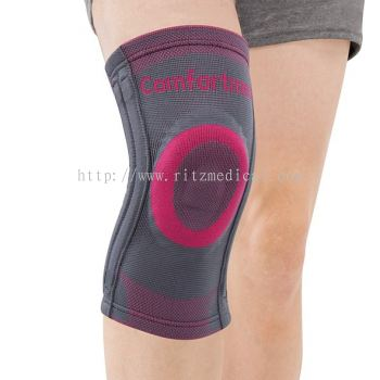 CO-7030 Pattern Knee Support with pad & 4 spiral stays