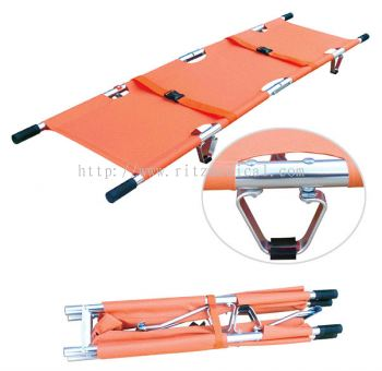 Aluminum Alloy Foldaway Stretcher (2 fold)   Model YXH-1F1