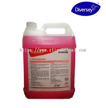 Diversey 20L  J-512 Sanitizer ( 5L)  - No Rinse Sanitizer For Food Contact Hard Surface