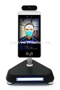 8-Inch Dual Camera Face Recognition Attendance Terminal with Temperature Detection function