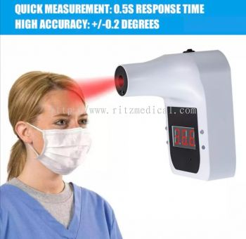 GP100 Plus Hand Free IR Thermometer with Voice broadcast
