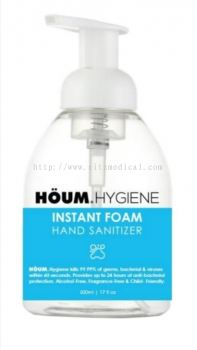 HOUM HYGIENE Instant Foam Hand Sanitizer  (500ml)