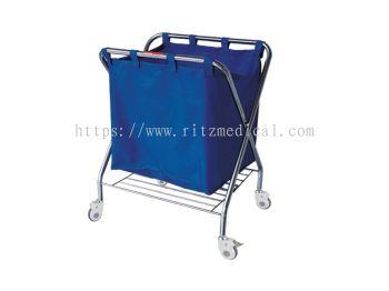 Stainless Steel Dressing Linen Trolley MN-ST20