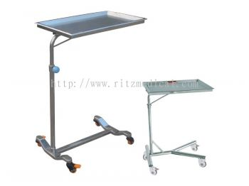 Stainless Steel Mayo Trolley Tray Stand MN-ST10