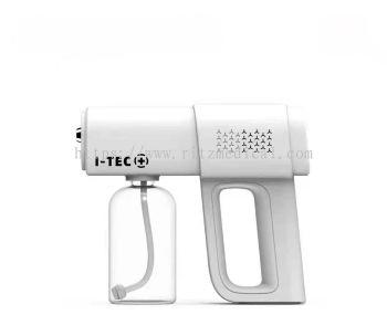 Wireless Electric Disinfection ,500ml , Nano Blue Light Trigger Spray, Porous Heat Dissipation  Machine c/w 5L HOUM  Sanitizing Solution